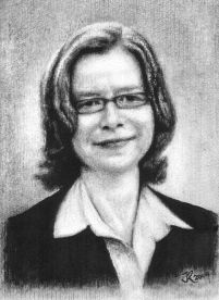 Caro Portrait Grau. 2