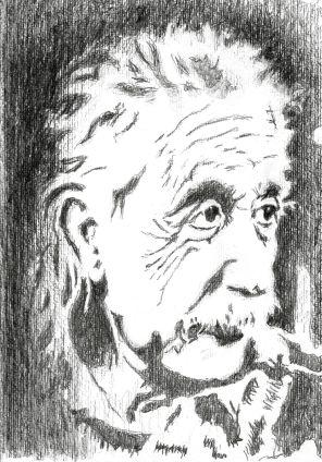 Einstein:Bleistift