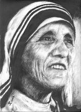 Mutter Teresa (Tinte)